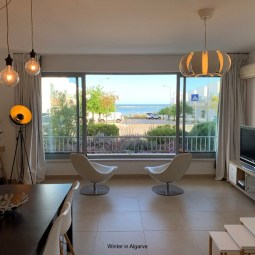 Apartment with Atlantic Ocean and Ria Formosa View and Private 50m2 Terrace!