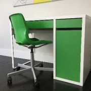 Kids Desk and Chair green