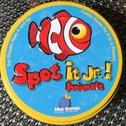Spot It Jr. card game, Animals