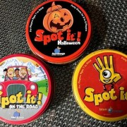 3 Spot It! Games--Halloween/OntheRoad/Original