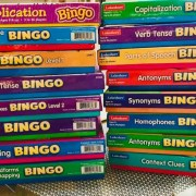 Bingo games from Lakeshore Learning