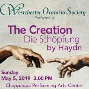 """Westchester Oratorio Society presents """"Die Schöpfung"""" by Haydn at ChappPAC"""