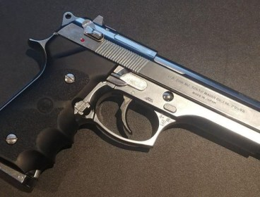 "Tokyo Marui M92fs Stainless Chrome ""Tactical Master"" GBB"