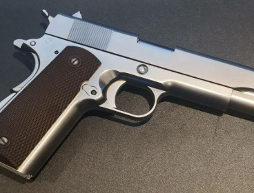 WE 1911 Stainless Full Metal GBB