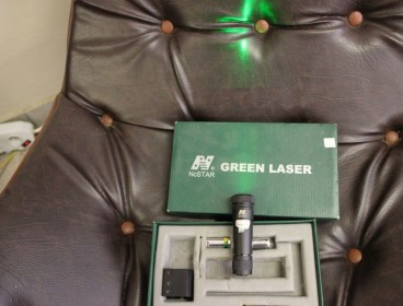 NC Star green lazer