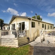 Willerby Clearwater Lodge + decking. Dymchurch, Kent