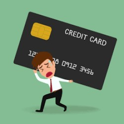 DROWNING IN CREDIT CARD DEBT?