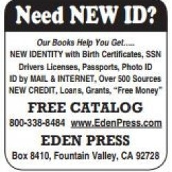Need NEW ID?