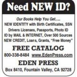 Need NEW ID?
