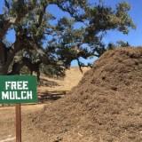 Free Mulch Pile