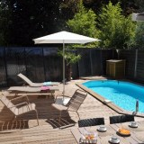 Montpellier : luxury villa with private heated pool, Wi-Fi, aircon, contemporary design furniture, for 4 people