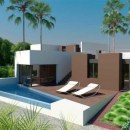 Villa on first line golf for sale in La Finca