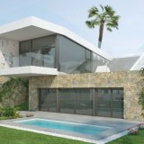 Design villa with private pool for sale in La Finca Golf