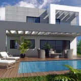 New contemporary villas for sale in Cerros del Alquila in Mijas