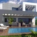 New contemporary villas for sale in Cerros del Alquila in Mijas