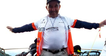 García, en una instantánea durante su viaje