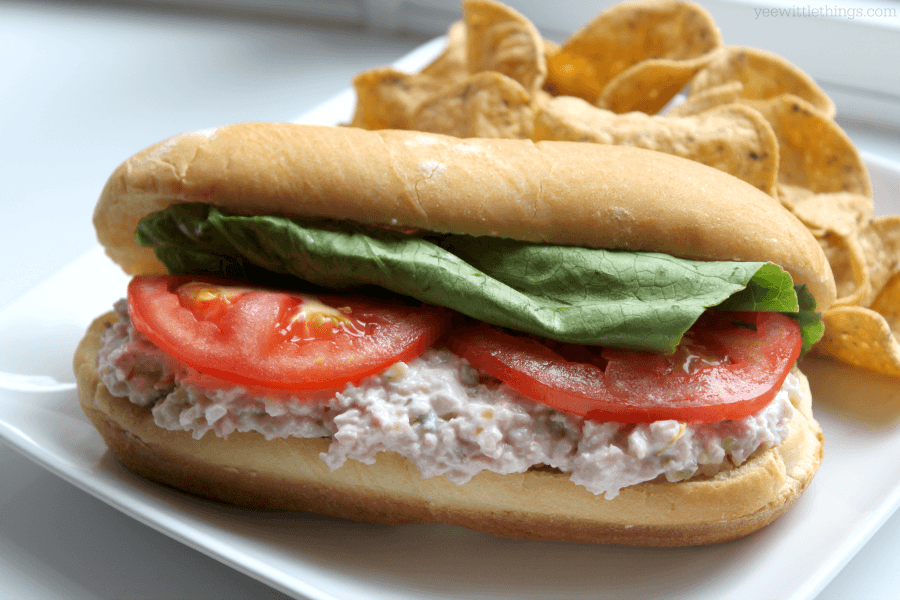 chicken salad sandwich salad deviled ham sandwich deviled ham and ...