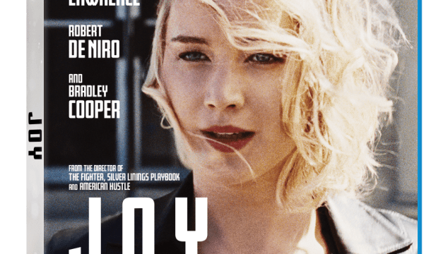 JOY Blu-ray/DVD Combo Pack Giveaway #Joy