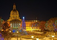 Alberta Legislature Christmas Light-Up