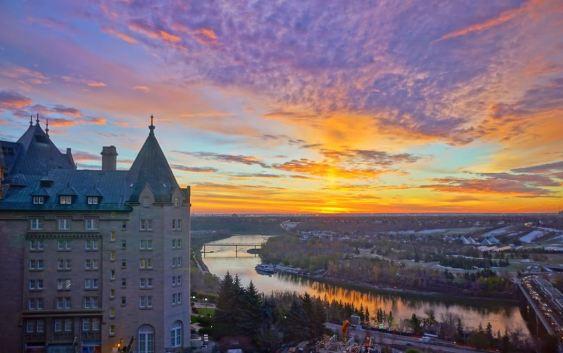 The Sunrises of Winter City Edmonton