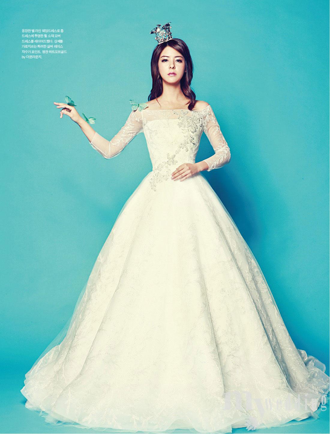 mina fujii my wedding korea hd wedding magazines Mina Fujii My Wedding Korean Magazine