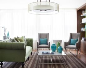Turquoise-blue-and-lovely-green-cushions-provide-the-accent-shades
