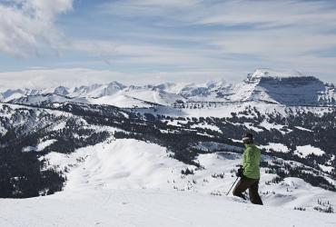 Your own private ski wilderness.
