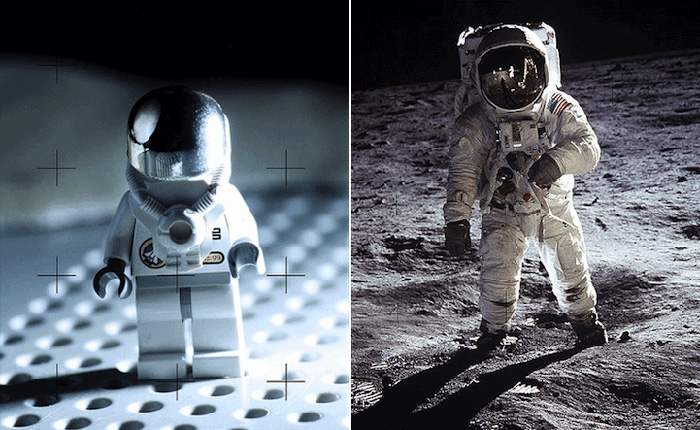 Design Free Thursday | Famous Photos Recreated With Lego.