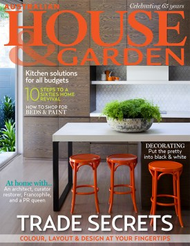 Australian House & Garden COVER March 2013 | Yellowtrace