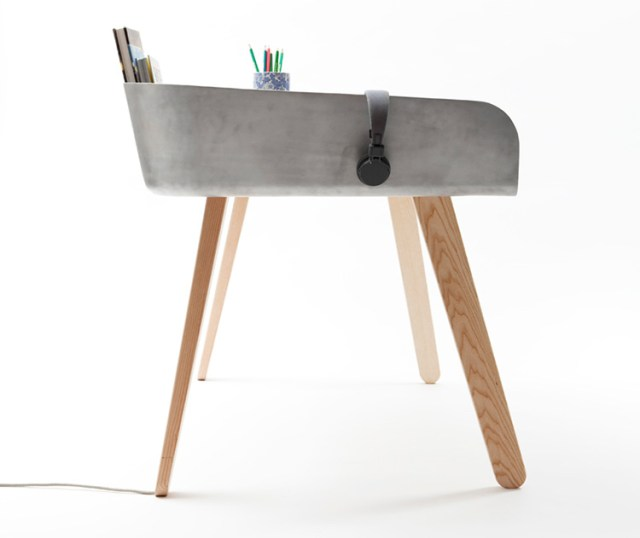 Homework table by Tomas Kral for Super-ette | Yellowtrace.