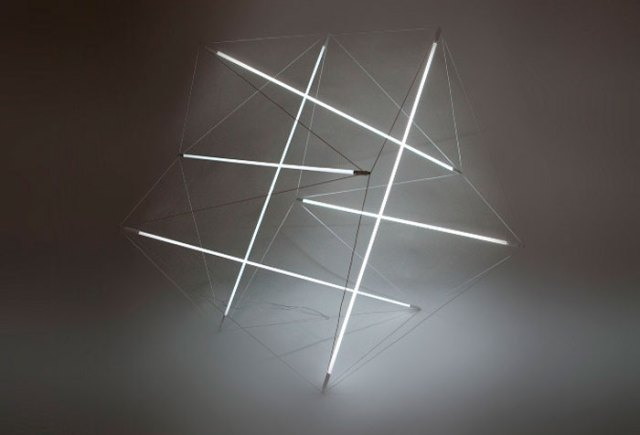 Tensegrity Light by Michal Maciej