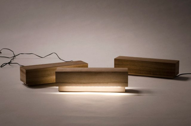 Log Lamp by Olli Mustikainen & Jari Nyman