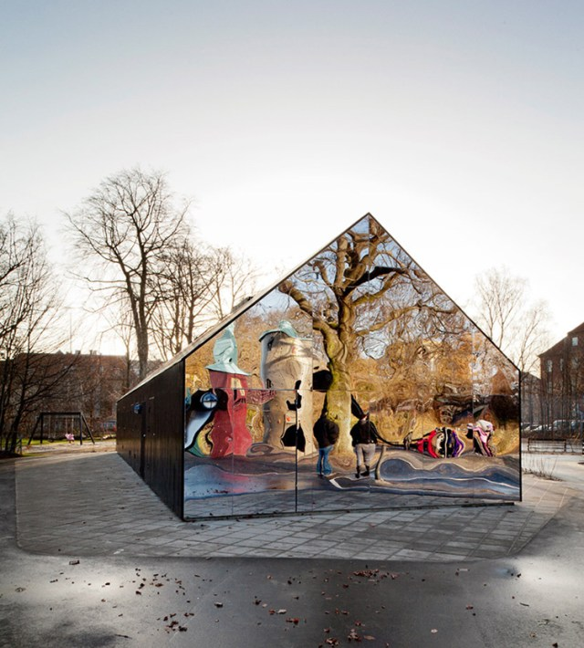 Mirror House in Copenhagen by MLRP | Yellowtrace.