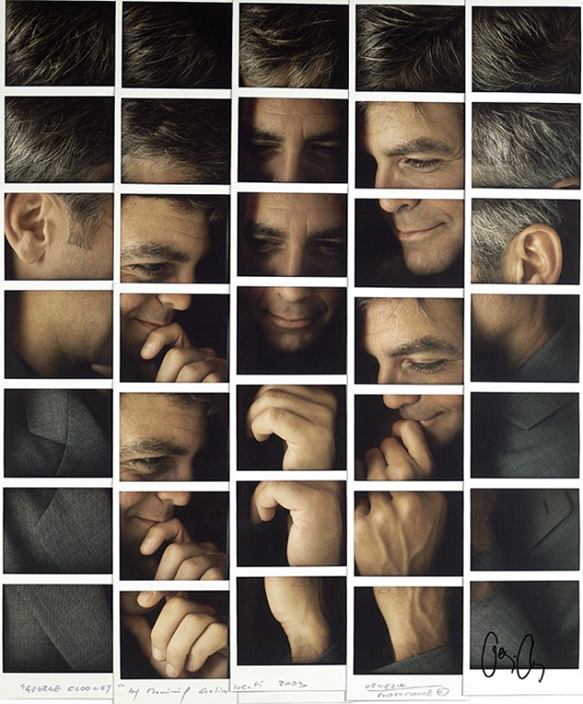Design Free Thursday // Polaroid Portrait Mosaics by Maurizio Galimberti.