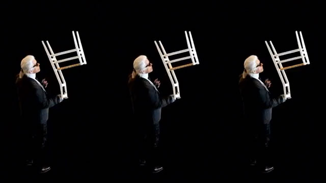 Karl Lagerfeld Photographs Iconic Furniture From Cassina // Video.