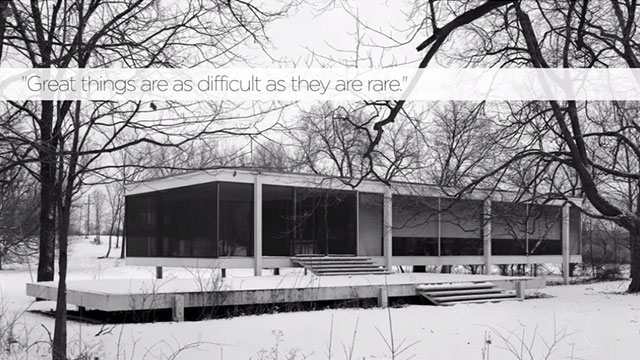 75 Years of Mies van der Rohe and His Chicago School.