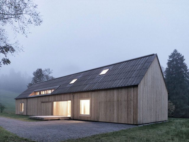 Haus am Moor by Bernardo Bader Architects, Austria | Yellowtrace.