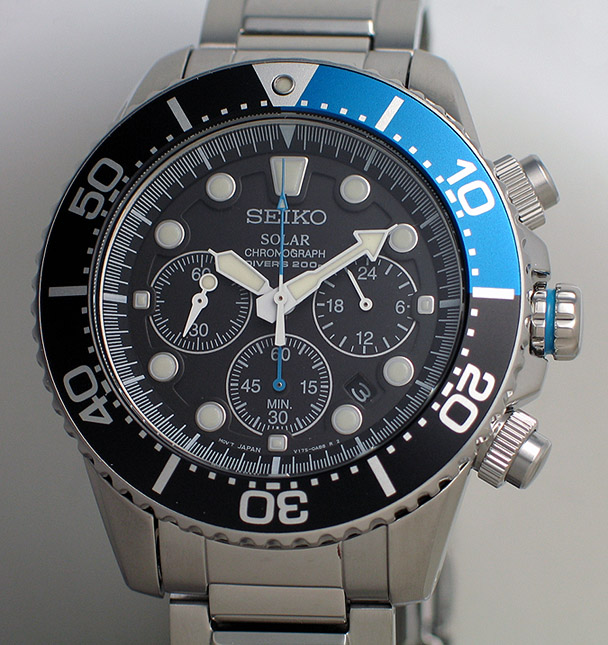 Seiko Solar Chronograph Diver - SSC017P (1/6)