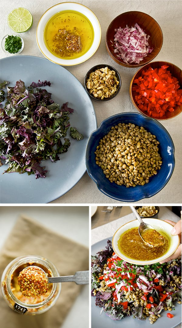 Serve the salad at room temperature. It is also great in a pita with ...
