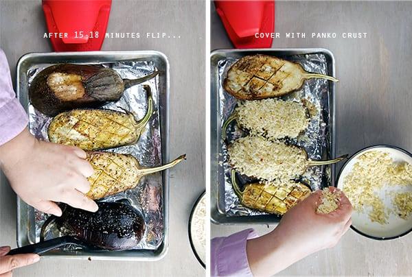 Eggplant-parmigiana-baked_panko-crust