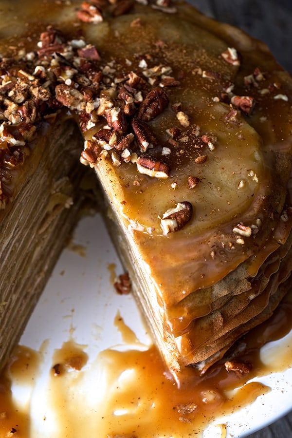 Apple-buckwheat-crepe-sliced-cake_Yes,-more-please!