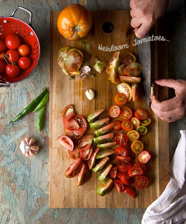 Oaxacan-Frittata-Heirloom-Tomatoes