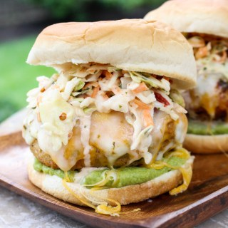 Mexican Turkey Burgers with Guacamole & Spicy Chipotle Slaw   Yes to Yolks