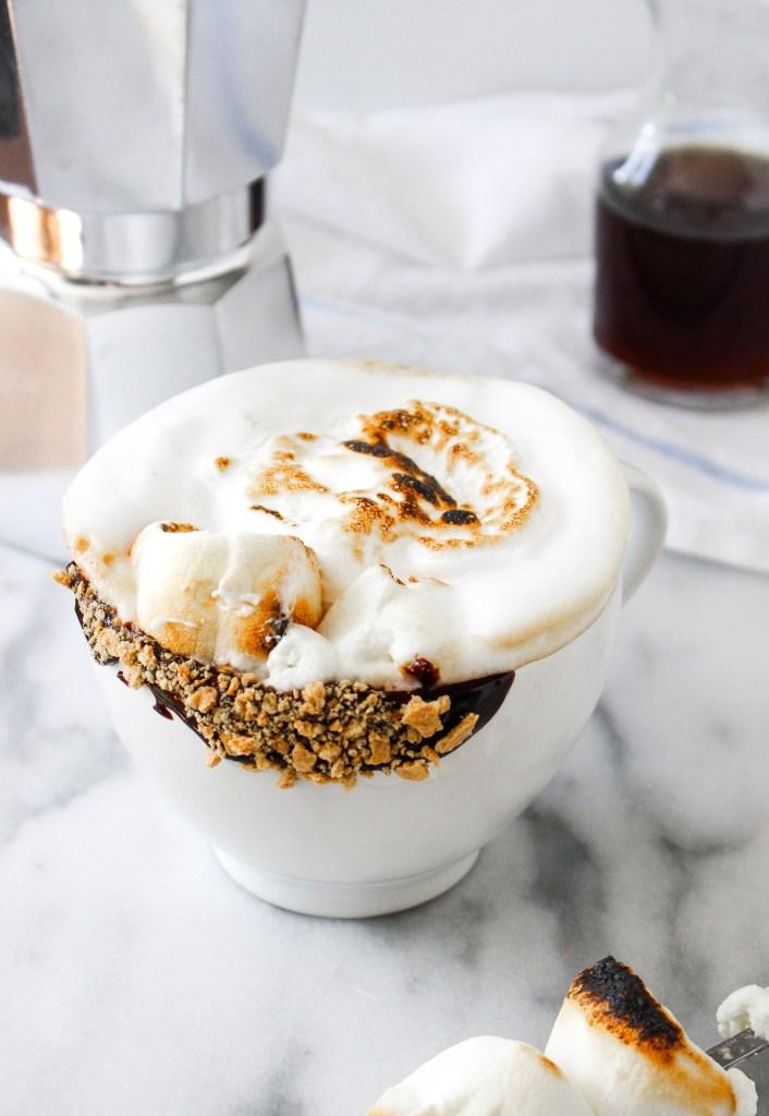 Toasted Marshmallow Latte
