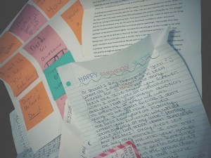 27 Letters for my 27th Birthday