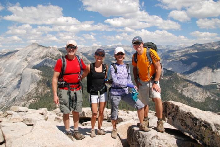 Hike Half Dome with YExplore Summit Club