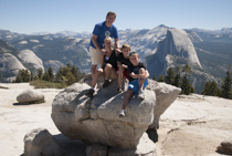 Yosemite Family Beginner Hike