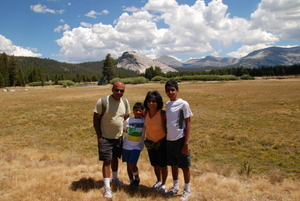 Yosemite Tuolumne Meadows Family Hike