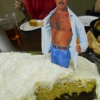 Better Than Tom Selleck Cake