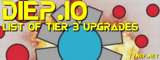 Diep IO Octotank Upgrade at Tier 3 Level 45